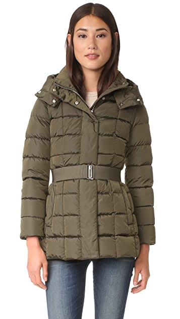 Add Down Belted Down Jacket