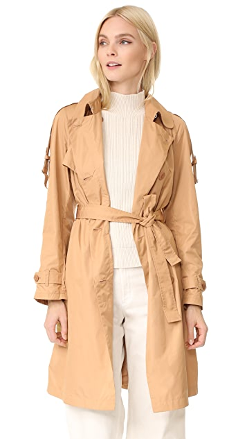 Add Down Trench Coat