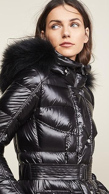 Add Down Hooded Down Parka w/ Fur