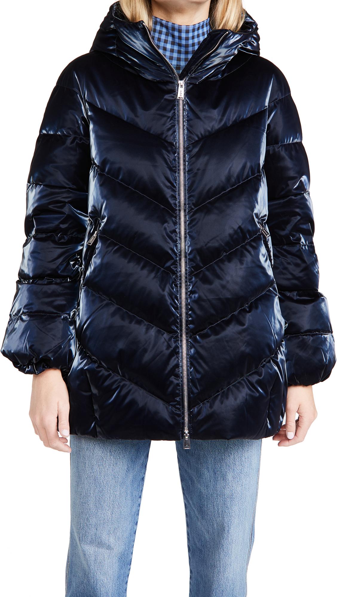 Add Down Hooded Jacket