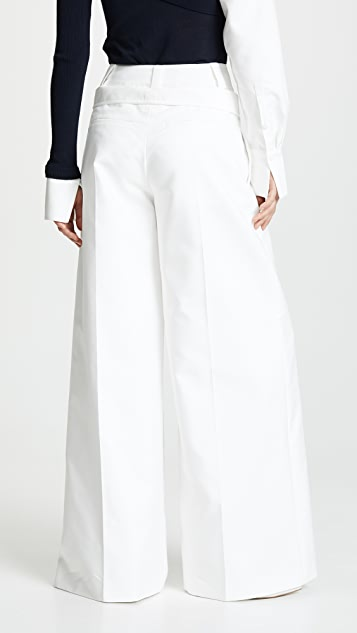 Adeam Double Waistband Trousers