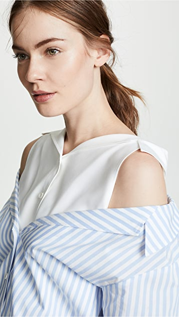 Adeam Doubled Oxford Shirt