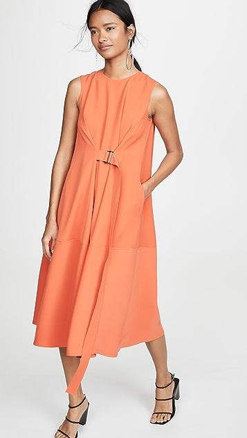Adeam Belted Parachute Dress
