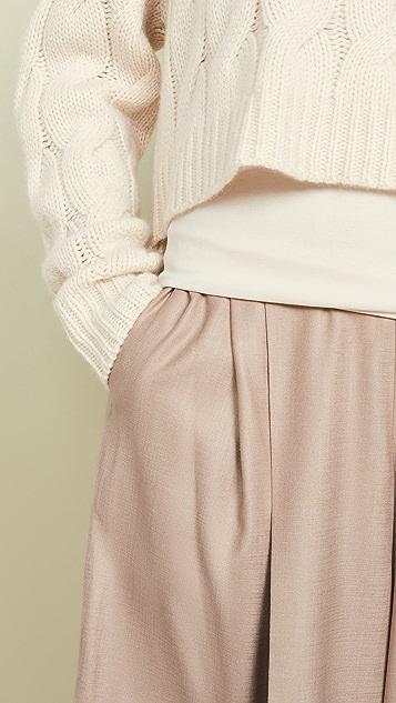 Adeam 多种穿法长裤