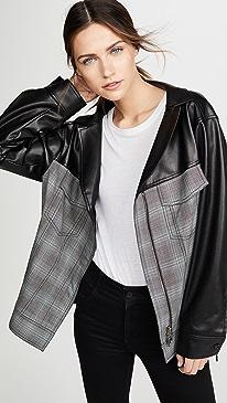 Oversized Ruched Jacket