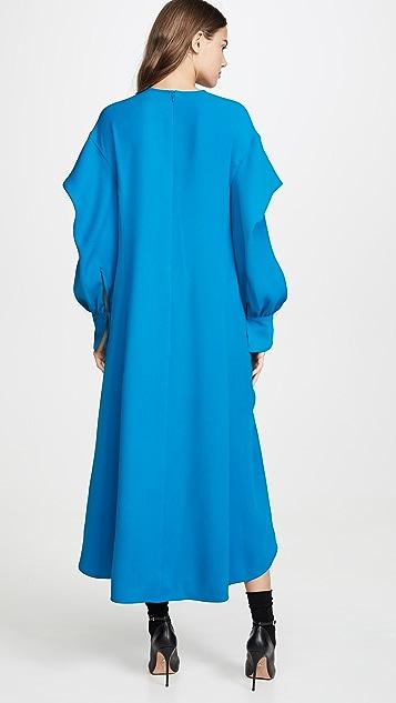 Adeam Ruched Parachute Dress