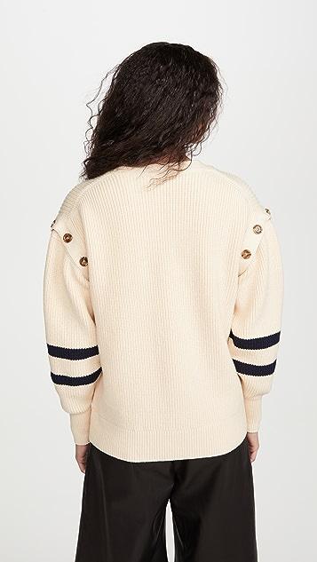 Adeam Chunky Sailor 开襟衫