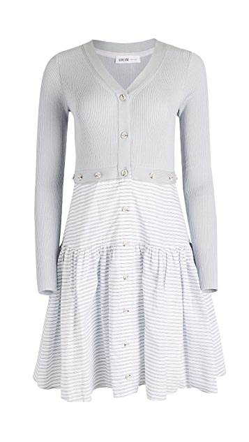 Adeam 多种穿法针织连衣裙