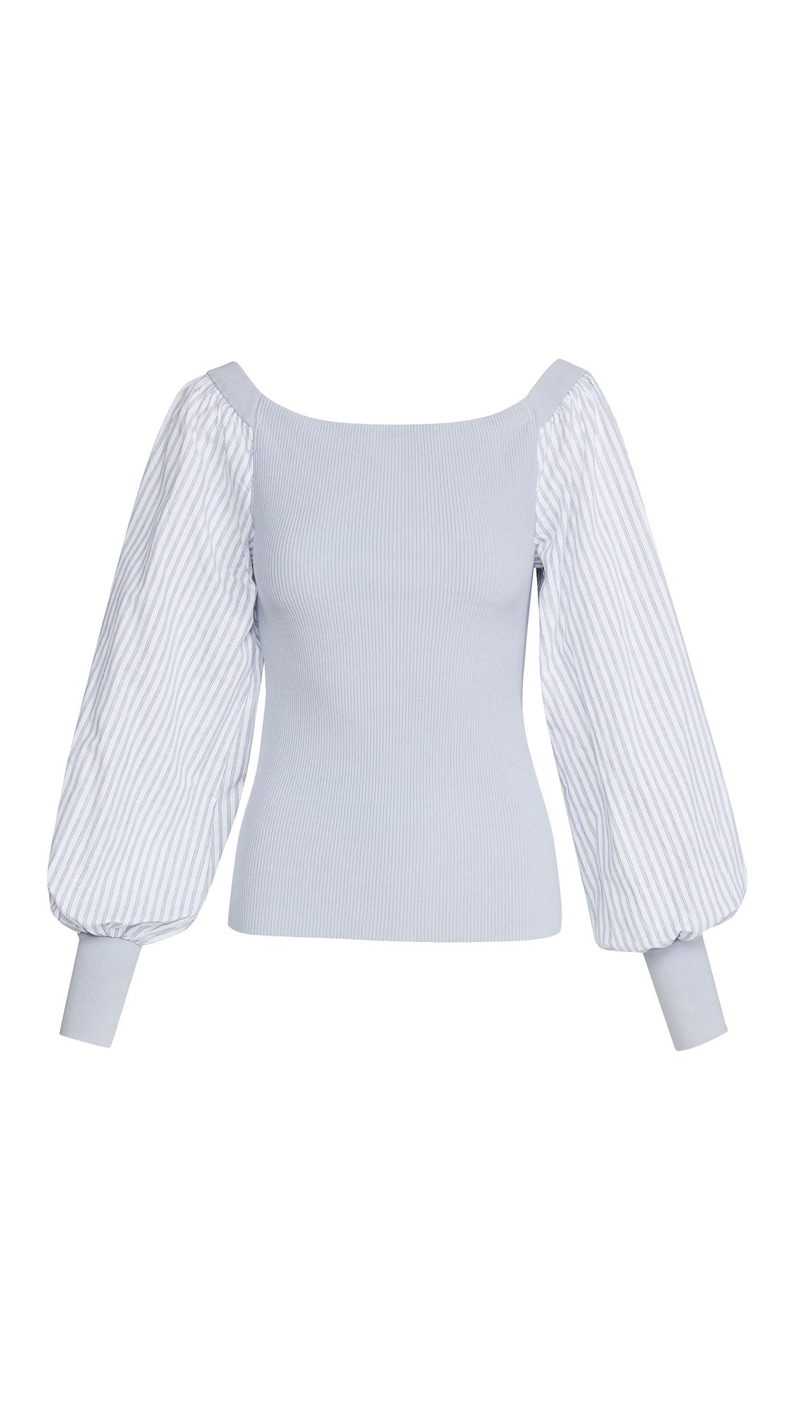 Adeam Puff Sleeve Sweater
