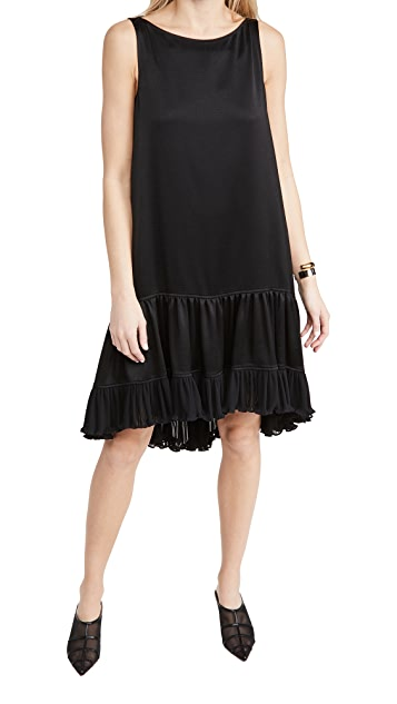 Adeam Pleated Parachute Dress