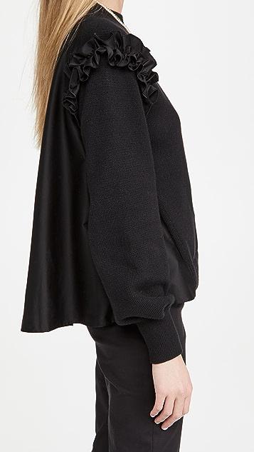 Adeam Ruffle Sweater