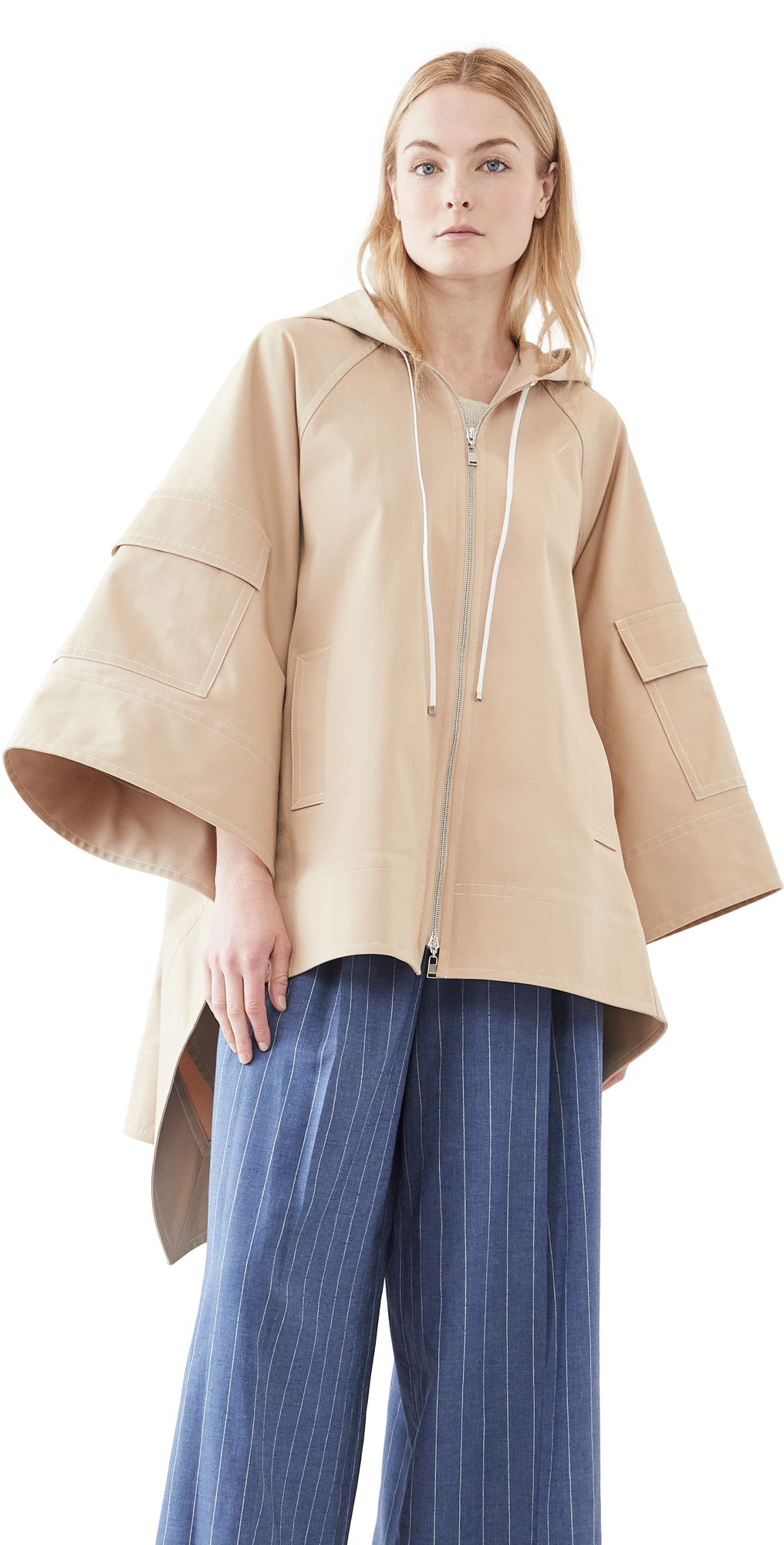 Adeam Safari Poncho Trench