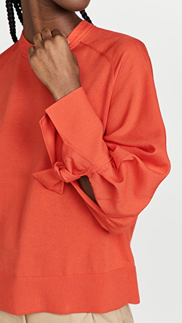 Adeam Anemone Knit Top