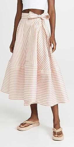 Adeam - Bellflower 中长半身裙