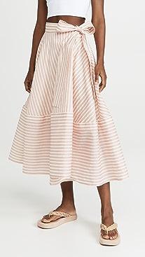 Adeam Bellflower Midi Skirt