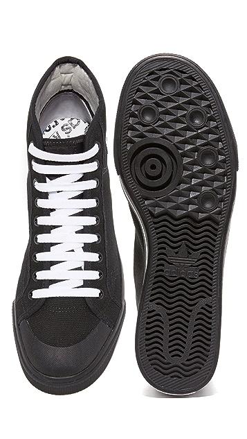 Adidas by Raf Simons Raf Simons Matrix Spirit High Top Sneakers