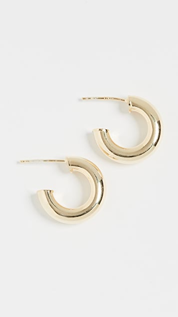 Adina's Jewels 空心粗圈式耳环