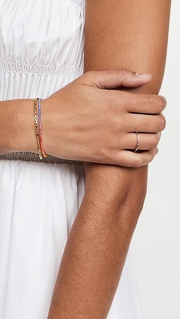 Adina's Jewels Thin Rainbow Ring