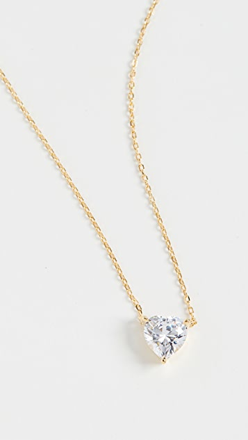 Adina's Jewels 心形石项链
