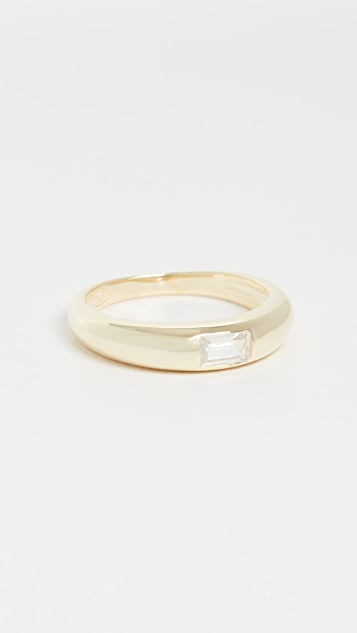 Adina's Jewels Hollow Dome Ring