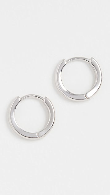 Adina's Jewels Plain Ring 贴耳耳环