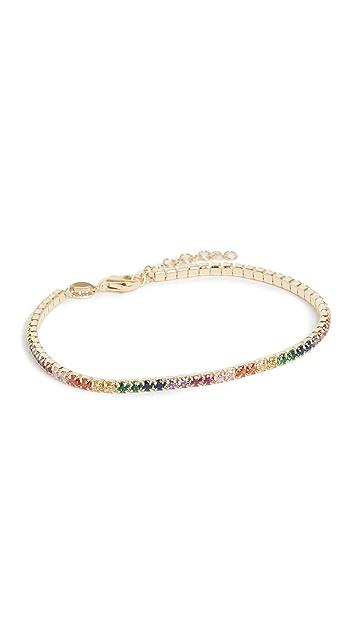 Adina's Jewels Rainbow Tennis Bracelet