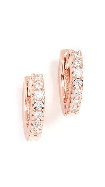 Adina's Jewels 迷你圆圈耳环