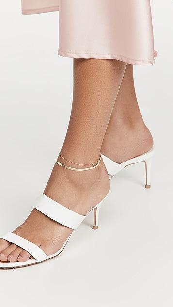Adina's Jewels Herringbone Anklet