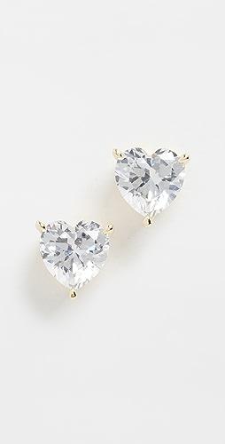 Adina's Jewels - Heart Stone 耳钉