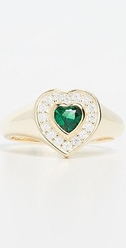 Adina's Jewels - Heart Pinky Ring