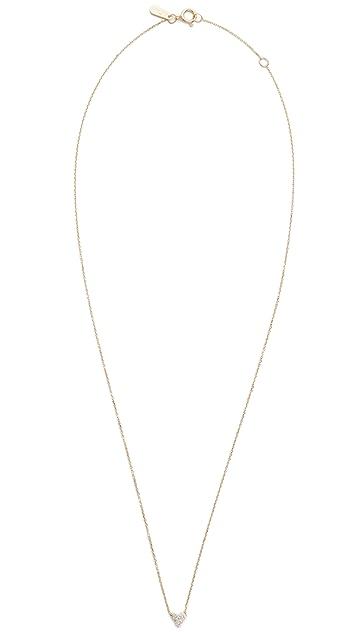Adina Reyter 14k Gold Diamond Cluster Necklace
