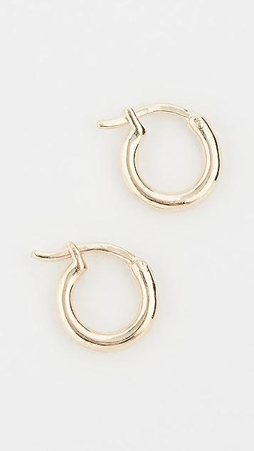 Adina Reyter 14K 贴耳圈式耳环