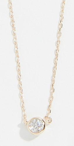 Adina Reyter - 14k Gold Single Diamond Necklace