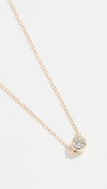Adina Reyter 14k Gold Single Diamond Necklace