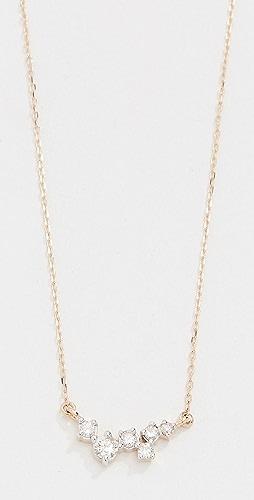 Adina Reyter - 14k Gold Scattered Diamond Necklace