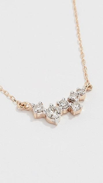 Adina Reyter 14K 金零星钻石项链