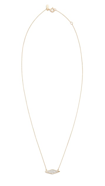 Adina Reyter Solid Pave Diamond Necklace