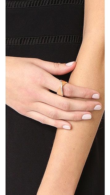 Adina Reyter Large Pavé Twist Ring