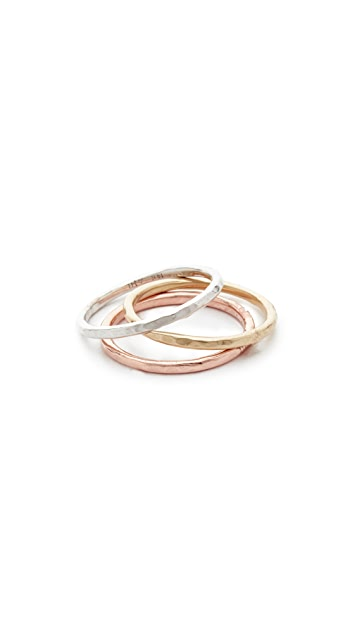 Adina Reyter Circle Stack Rings