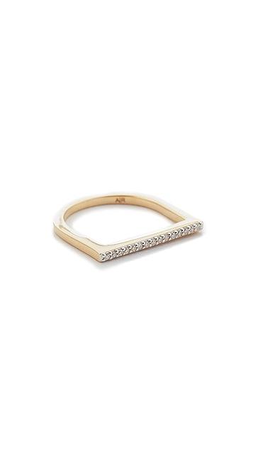 Adina Reyter 14k Gold Flat Bar Ring