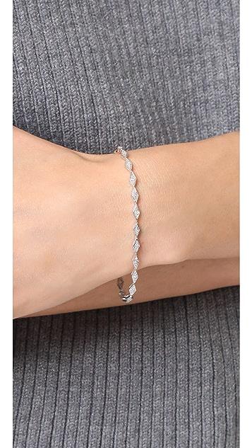Adina Reyter Pave Diamond Tennis Bracelet