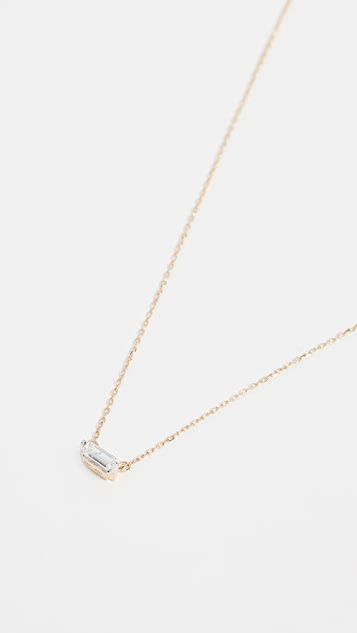 Adina Reyter 14k Gold Baguette Necklace
