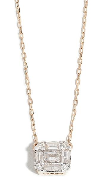 Adina Reyter 14k Multi Baguette Necklace