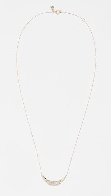 Adina Reyter 14k Large Curve Necklace