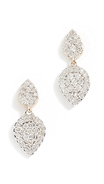 Adina Reyter 14k Double Teardrop Post Earrings