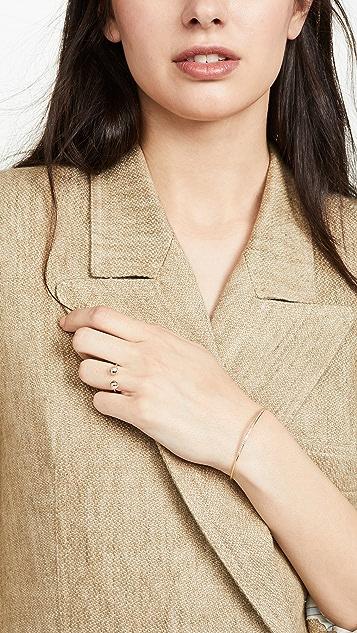 Adina Reyter Двойное кольцо Orbit из 14-каратного золота