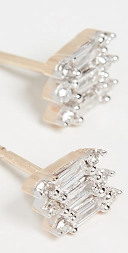 Adina Reyter - 14k 三叠层长方形宝石耳环