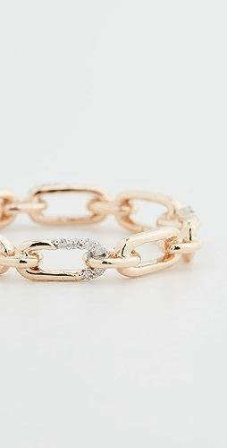 Adina Reyter - 14k Pave Interlocking Link Ring
