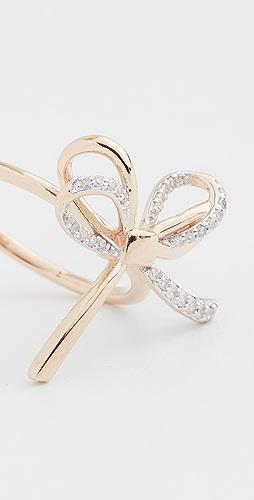Adina Reyter - 14k Large Pave Bow Ring