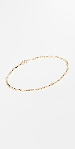 Adina Reyter - 14k Tiny Bead Chain Bracelet
